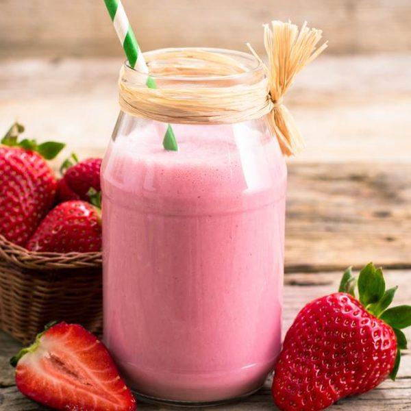 milkshake-fraise